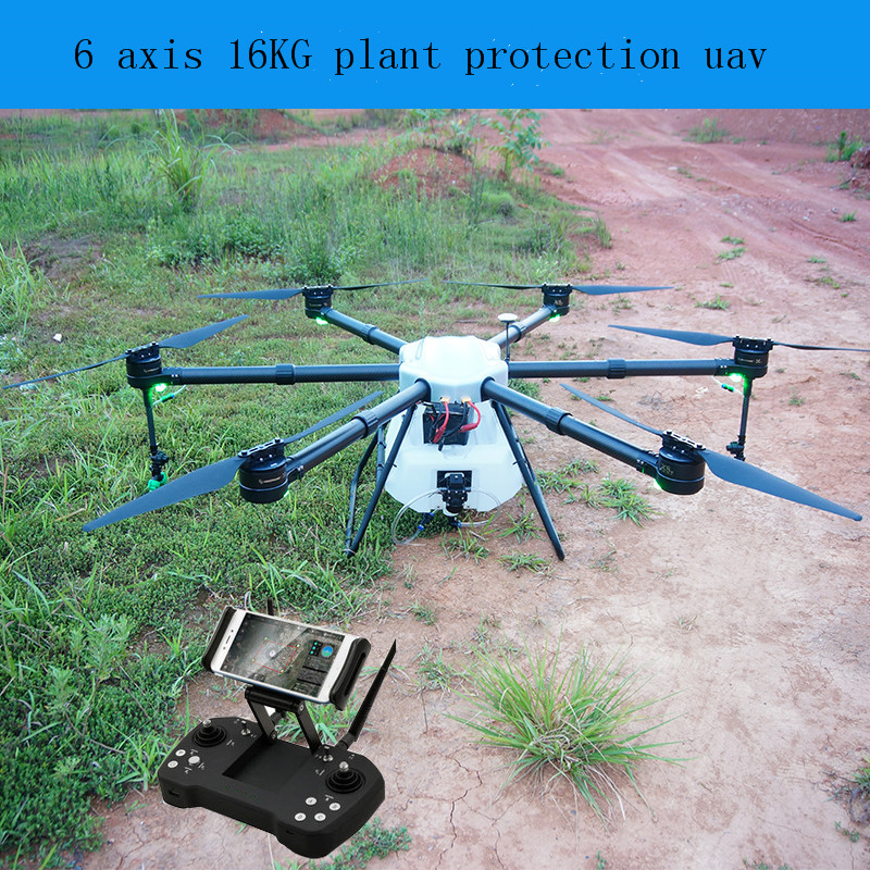 DJI T16 Large Agricultural Uav Spraying Pesticide Spraying 16KG Multi-axis 16L Agriculture Drone