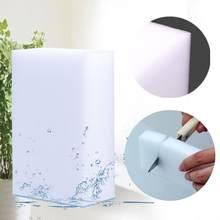 100*60*20mm 20 pces borracha mágica cozinha escritório banheiro limpo acessório/prato limpeza melamina esponja branco