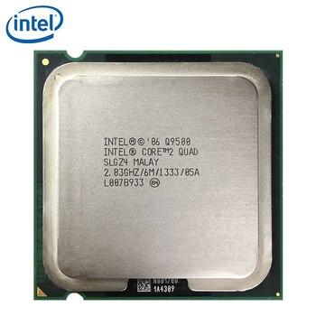 Intel Core 2 Quad Q9500 2.83GHz Quad-Core CPU Processor 6M 95W 1333 LGA 775 100% working