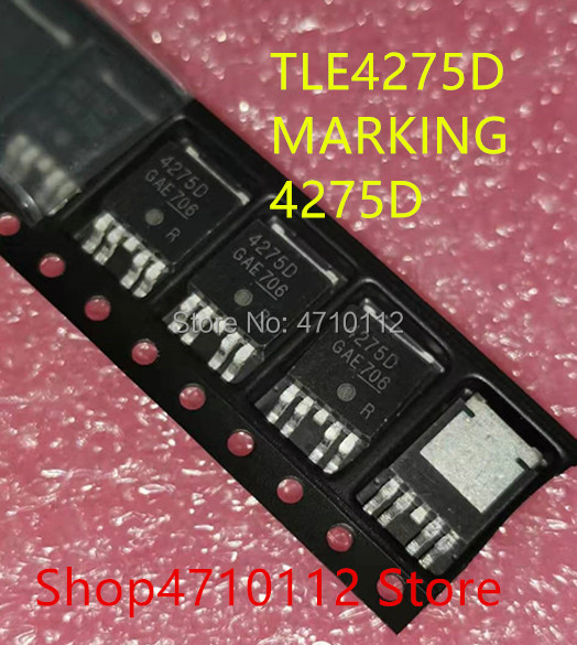 NEW 10PCS/LOT TLE4275D 4275D TO-252-4  IC