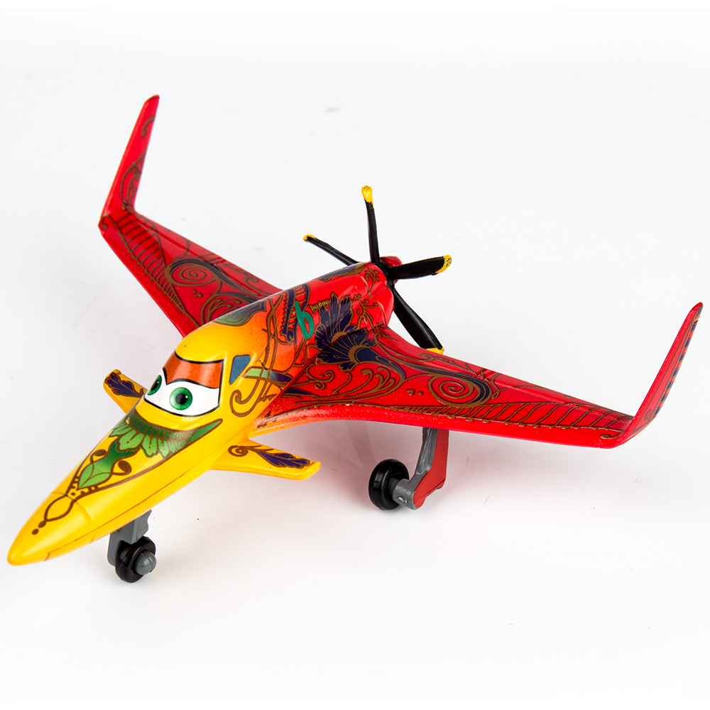 Plane Model Red Ishani Diecast Metall Alloy Planes Toys for Children's Gift image
