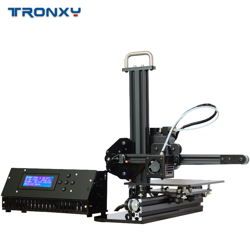 Tronxy 3D Printer X1 Pulley Linear Guide Support SD Card Printing LCD Display High Precision 0.1-0.4mm Off-line imprimante 3d 5
