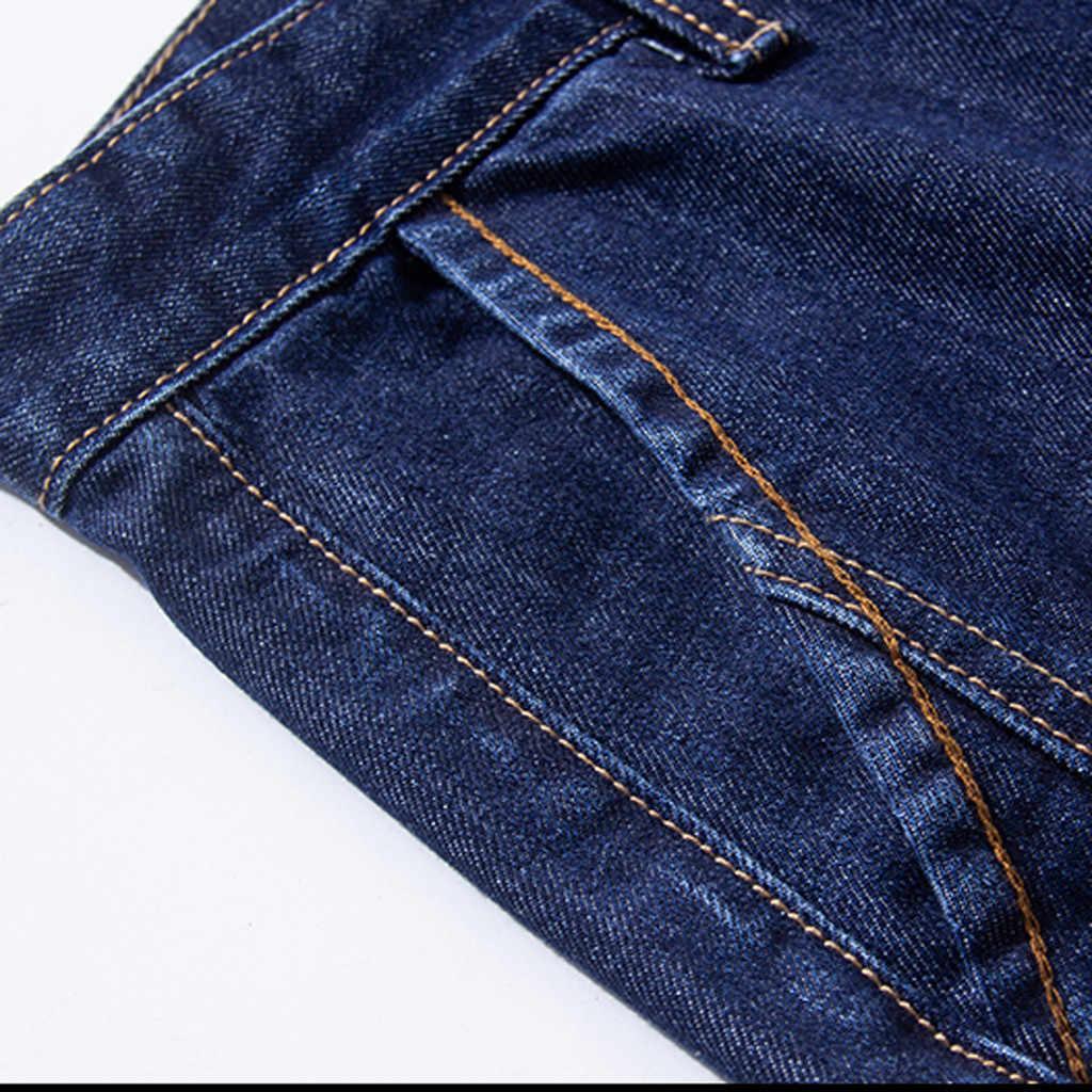 Moda męska dżinsy hombre na co dzień długie dżinsy dla mężczyzn streetwear deskorolka proste moda dżinsy mężczyzn slim fit Plus rozmiar S-8XL