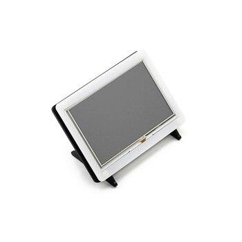 2pcs/lot 5 inch HDMI LCD (B) 800*480 Touch Screen LCD Display Monito for Raspberry Pi B/A+/B+/2B/3B Banana Pro with Bicolor Case