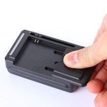 Adaptador universal de carregador, adaptador de tomada eua/ue com tela de indicador lcd para celulares porta usb durável e à prova de incêndio
