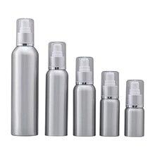 Portable Travel Aluminum Cosmetic Split Bottle Travel Sub Bottle Shampoo Lotion Bottle Container 30ml 50ml 100 ml 120ml 250ml