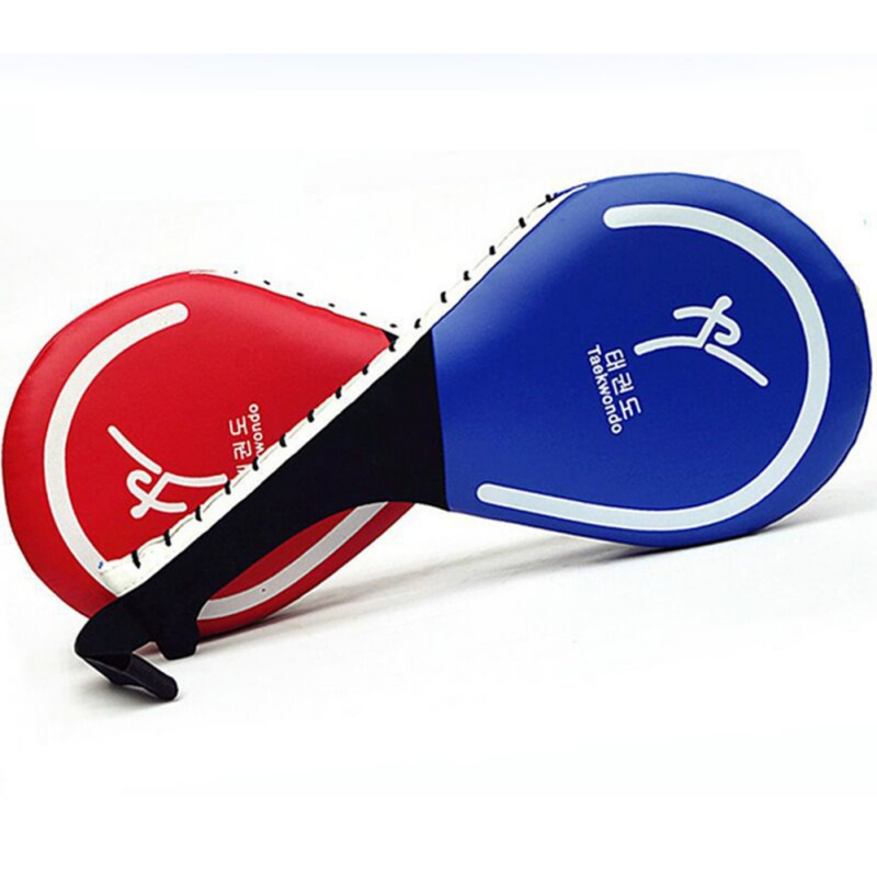 Taekwondo Target Training Accessories Double Leaf Target Shield Pad Adult Child Martial Arts Kick Target Protective Gear