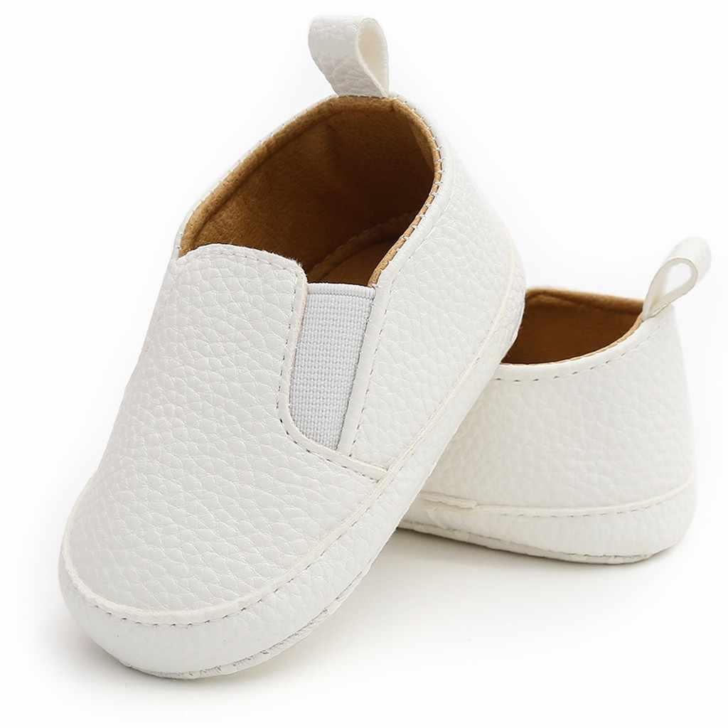 MUQGEW Per Bambini Pattini di Bambino Del Bambino Delle Ragazze Dei Ragazzi Solido Moda Scarpe Autunno 2019 Scarpe di Cuoio Del Bambino Scarpe Primipassi Del Capretto Scarpe schoenen