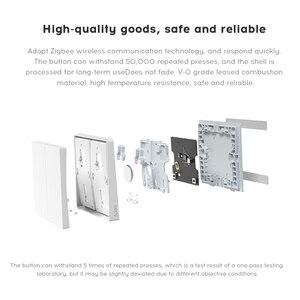 Image 3 - Aqara wireless switch single/double key D1 smart switch Zigbee wireless connection gateway hub for xiaomi mijia Mi Home homekit