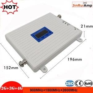 Image 3 - Трехдиапазонный ретранслятор сигнала 2G 3G 4G GSM 900 + DCSLTE 1800 + FDD LTE 2600, усилитель сигнала мобильного телефона, усилитель сотовой связи