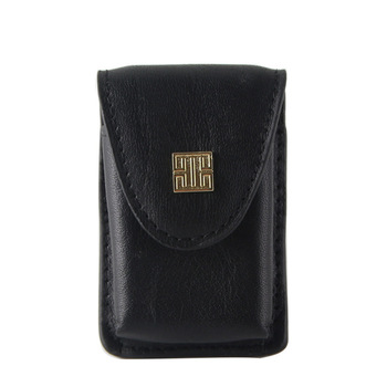 Brand Black Lighter Cover With Belt For Zippo Leather Lighter Cover Kerosene Lighter Holder Bag Lighter Cover Men Gift YJ583 фото