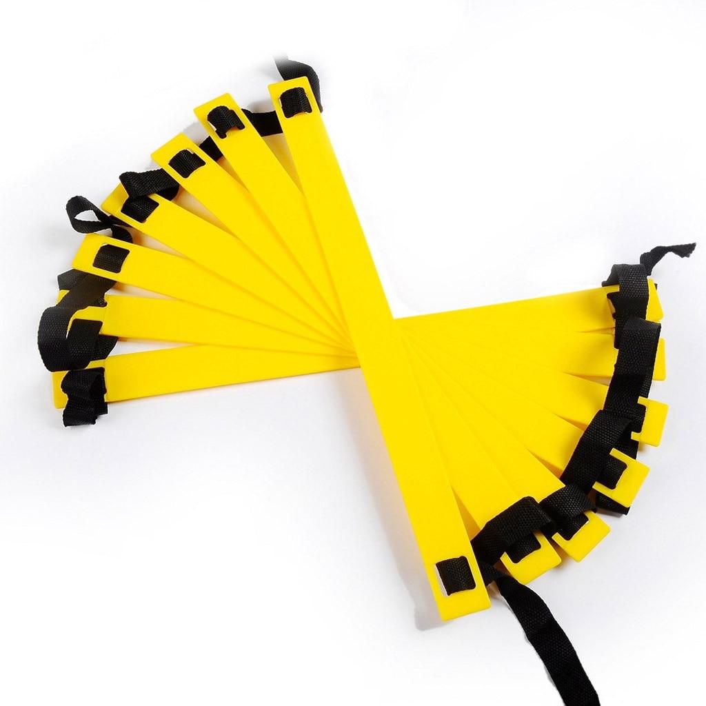 futebol fitness pés equipamentos de treinamento esportes coordenação força amarelo