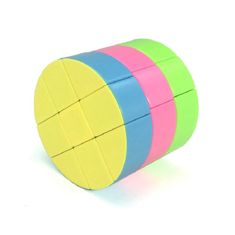 ZCUBE Cloud 3-layer Cylinder 3x3 Cubing Speed  Colorful Puzzle Magic Professional Twist Educational Kid Toys Drop Shipping 1