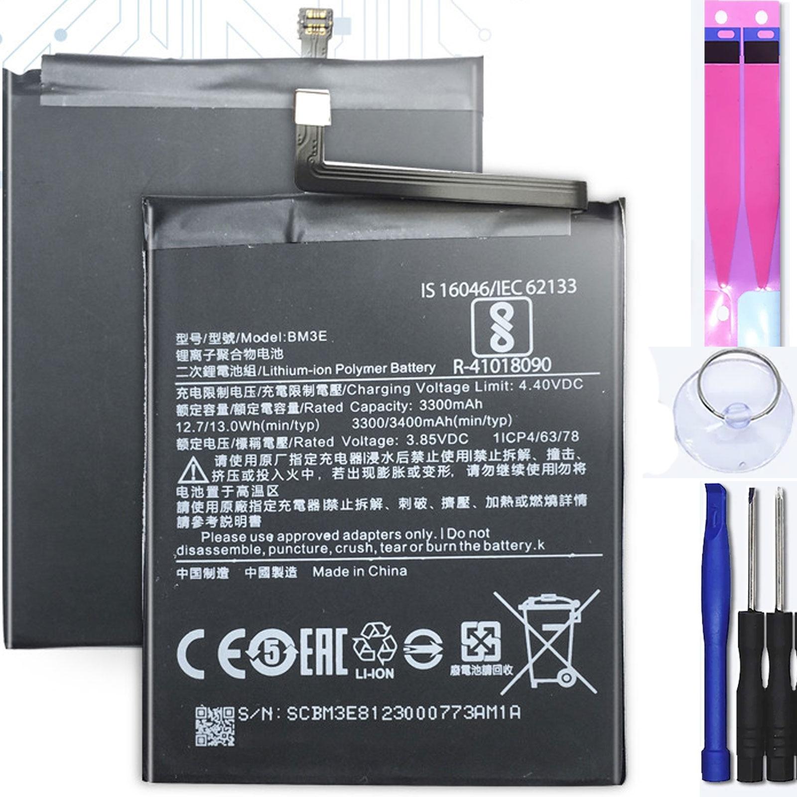 Аккумулятор для Xiaomi Mi8, Mi 8, MPN Оригинал BM3E