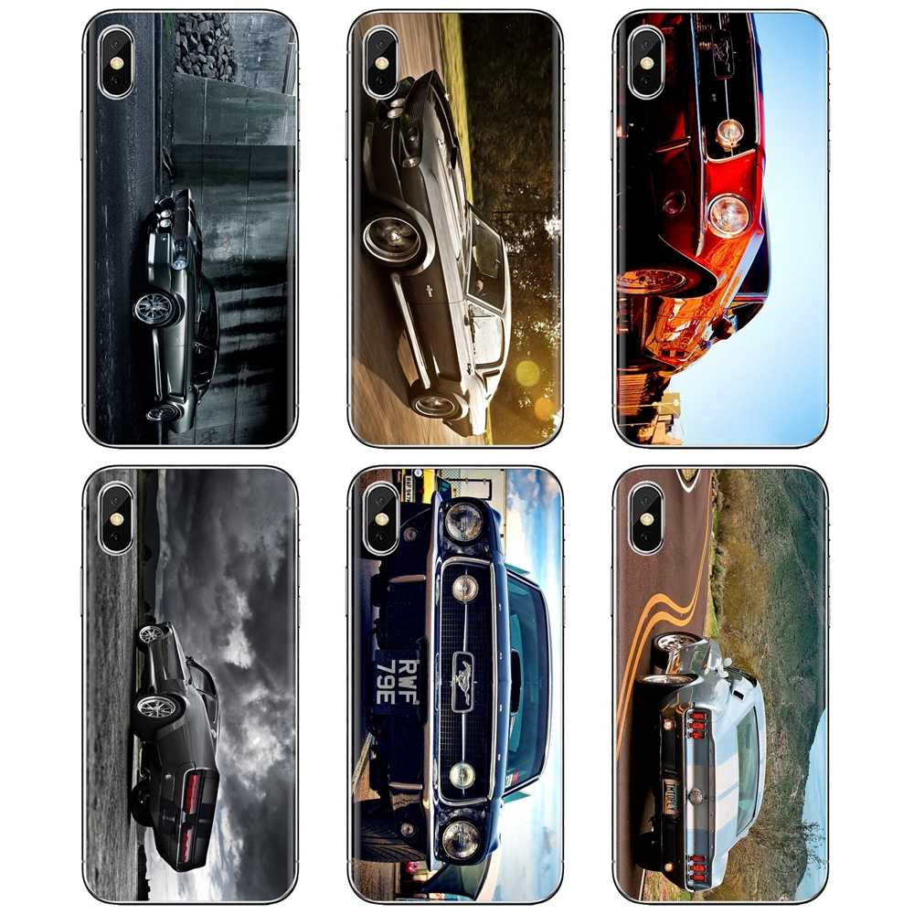 Ford Mustang 1966 Super Car 4k Wallpaper Soft Case For Samsung Galaxy A10 A30 A40 A50 A60 A70 S6 Active Note 10 Plus Edge M30 Aliexpress