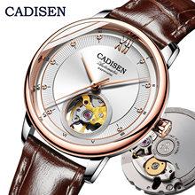 CADISEN ใหม่แฟชั่นผู้หญิงอัตโนมัตินาฬิกา MIYOTA90S5 Ultra บางออกแบบสุภาพสตรีนาฬิกาสุดหรูคู่นาฬิกา