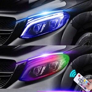 2pcs Newest Magic Color Car LE