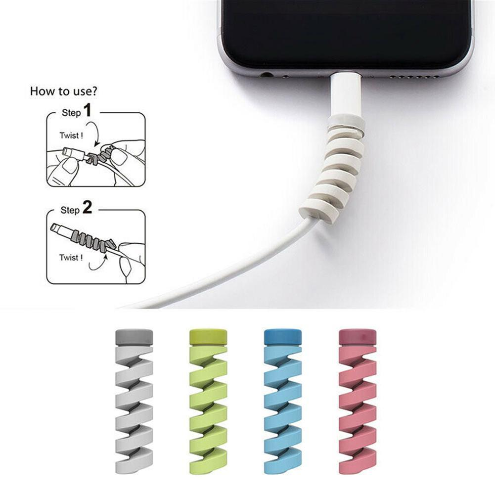 1Pcs Cable Winder Protector Cover Anti-Break Universal Cables Mobile Charger Holder Cord Phone USB Accessory