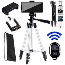 Portable Adjustable Tripod Lightweight Camera Stand Mount Holder Clip Bluetooth Remote