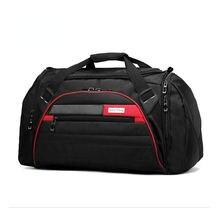 Черные спортивные сумки большой емкости мужская спортивная сумка