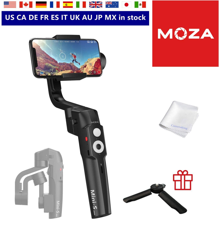 MOZA Mini-S необходимый складной шарнирный стабилизатор для смартфона отслеживание объектов трекинг зум Вертиго начало