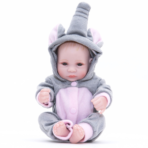 10 Inches Full Body Soft Silicone Baby Doll for Kids Reborn Baby Girl Dolls Toys for Kids