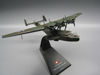 1/144 Scale WWII World War II Germany DO24T Seaplane Diecast Metal Military Plane Aircraft Airplane Model Collections