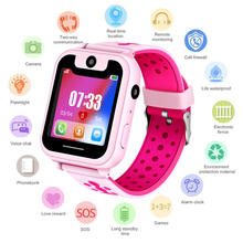 LIGE Kid Smart Watch Boys Girls Baby LBS Position Tracker Phone Answer Children Support for Android ios phones +Box