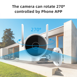 Image 2 - Original Smart Outdoor Camera Waterproof PTZ webcam 270 angle 1080P Dual antenna signal WIFI IP Cam Night vision Mi home APP