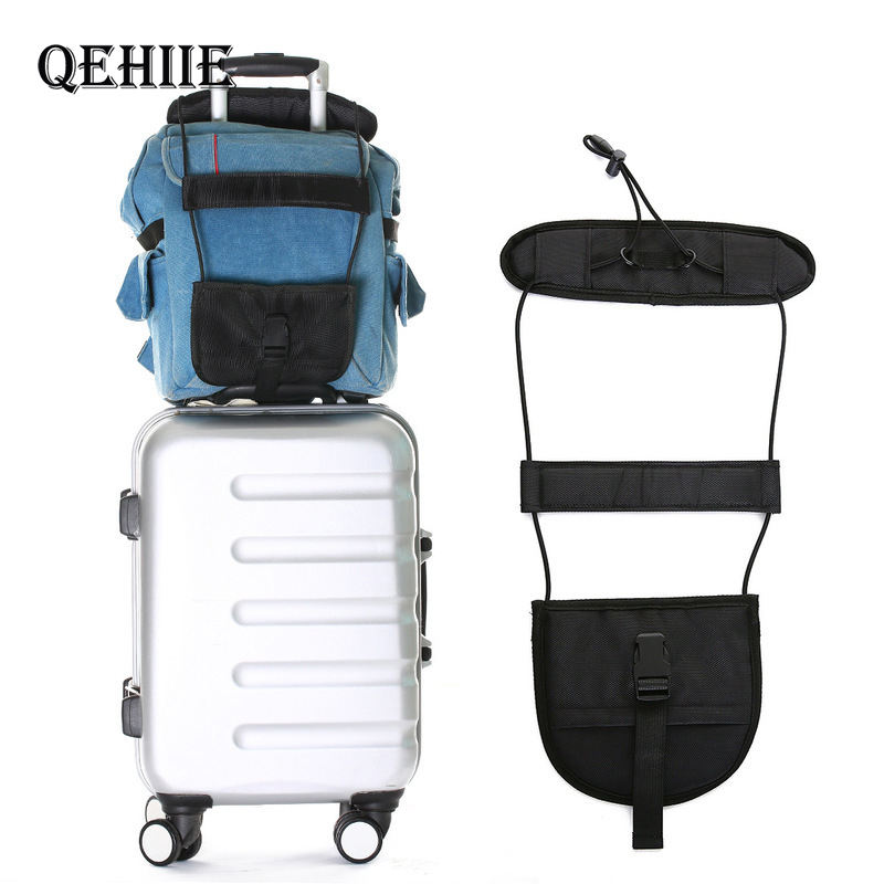 High Quality Elastic Luggage Strap Travel Bag Parts Suitcase Fixed Belt Trolley Adjustable Security Accessories Supplies Product