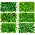 Искусственные растения 40*60, зеленая настенная панель, газон, ковер, растения, настенный Ландшафтный Декор для дома, улицы, свадьбы, задний фо...
