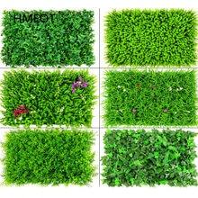 Panneau mural vert avec plantes artificielles, tapis de pelouse, décoration pour la maison, l'extérieur, arrière-plan de mariage, gazon, 40x60
