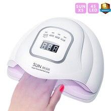 SUN X5 Max lampe UV intelligente pour sèche ongles, appareil de 80W à 45 led, appareil à infrarouge, pour manucure