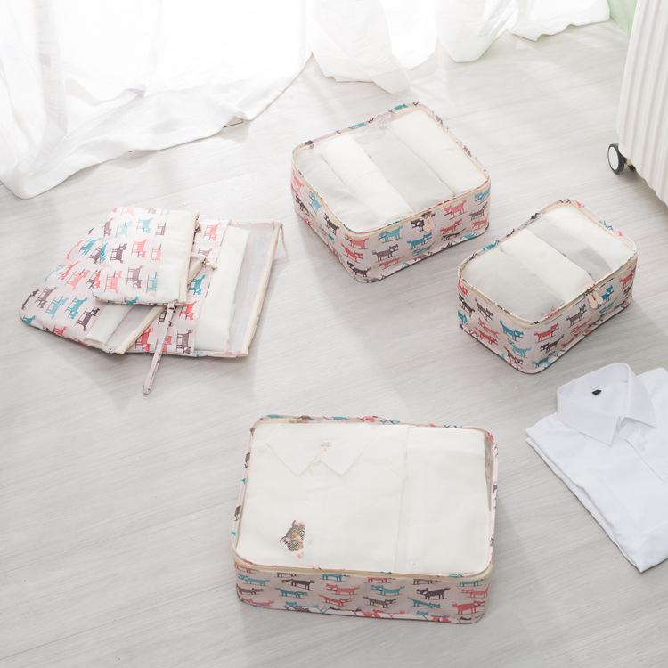 armazenamento conjunto para roupas organizador arrumado mala