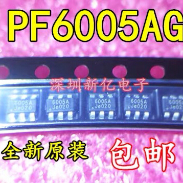 10PCS~50PCS/LOT  PF6005AG   6005AG  SOT23-6  New original