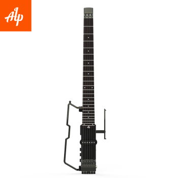 Free Shipping ALP Headless Travel Electric Guitar FT-221S foldable guitar metal guitar mini guitar