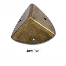 4 шт Ретро жестяная коробка подарочная Обёрточная бумага угловой