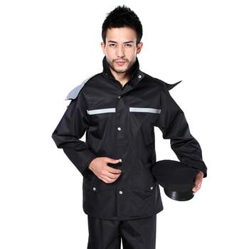Scooter Pants Raincoat Jacket Set Outdoors Plastic Survival Men Raincoat Waterproof Pants Poncho Impermeable Rain Gear JJ60YY