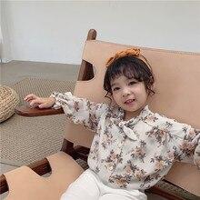 You gato negro mi/ г. Осенняя новая стильная элегантная детская хипстерская рубашка с принтом в стиле ретро в Гонконге
