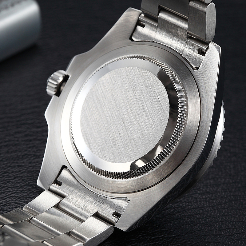 Image 5 - Parnis 40mm Mechanical Men Watches GMT Sapphire Crystal Man Diver Men's Watch Automatic relogio masculino Role Luxury Brand 2019-in Mechanical Watches from Watches