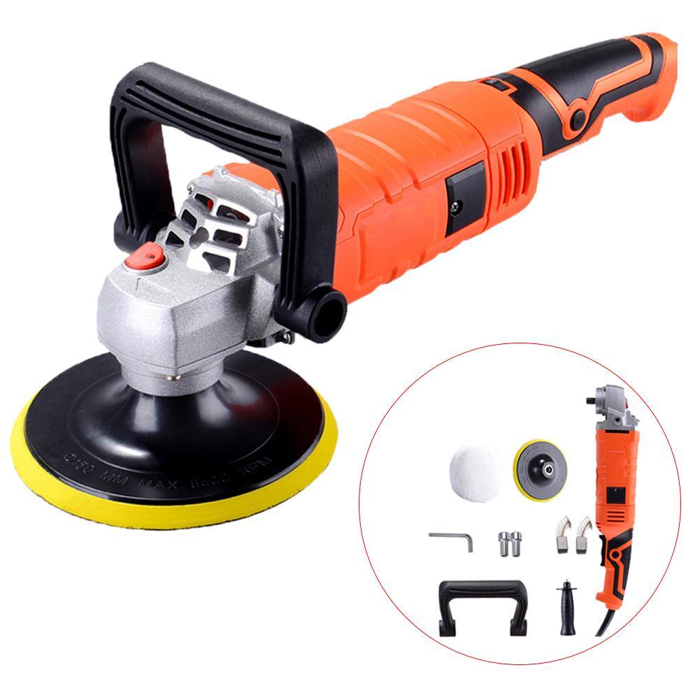 1580W 220V Grinder Mini Polishing Machine Car Polisher Sanding Machine Orbit Polish Adjustable Speed Sanding Waxing Power Tools