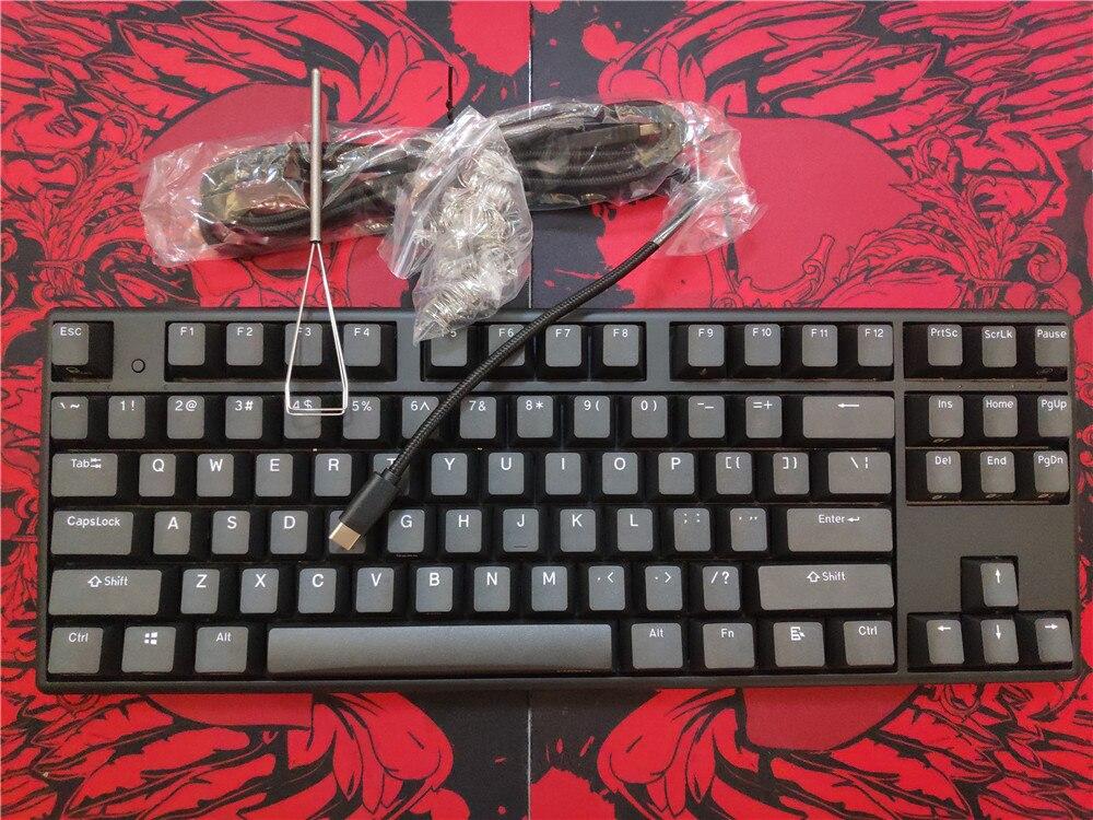 2019 New Black Plum NIZ 87 TKL Capacitive Mechanical Keyboard Bluetooth 35g  Wireless Program Keyboards Topre Similar Switch
