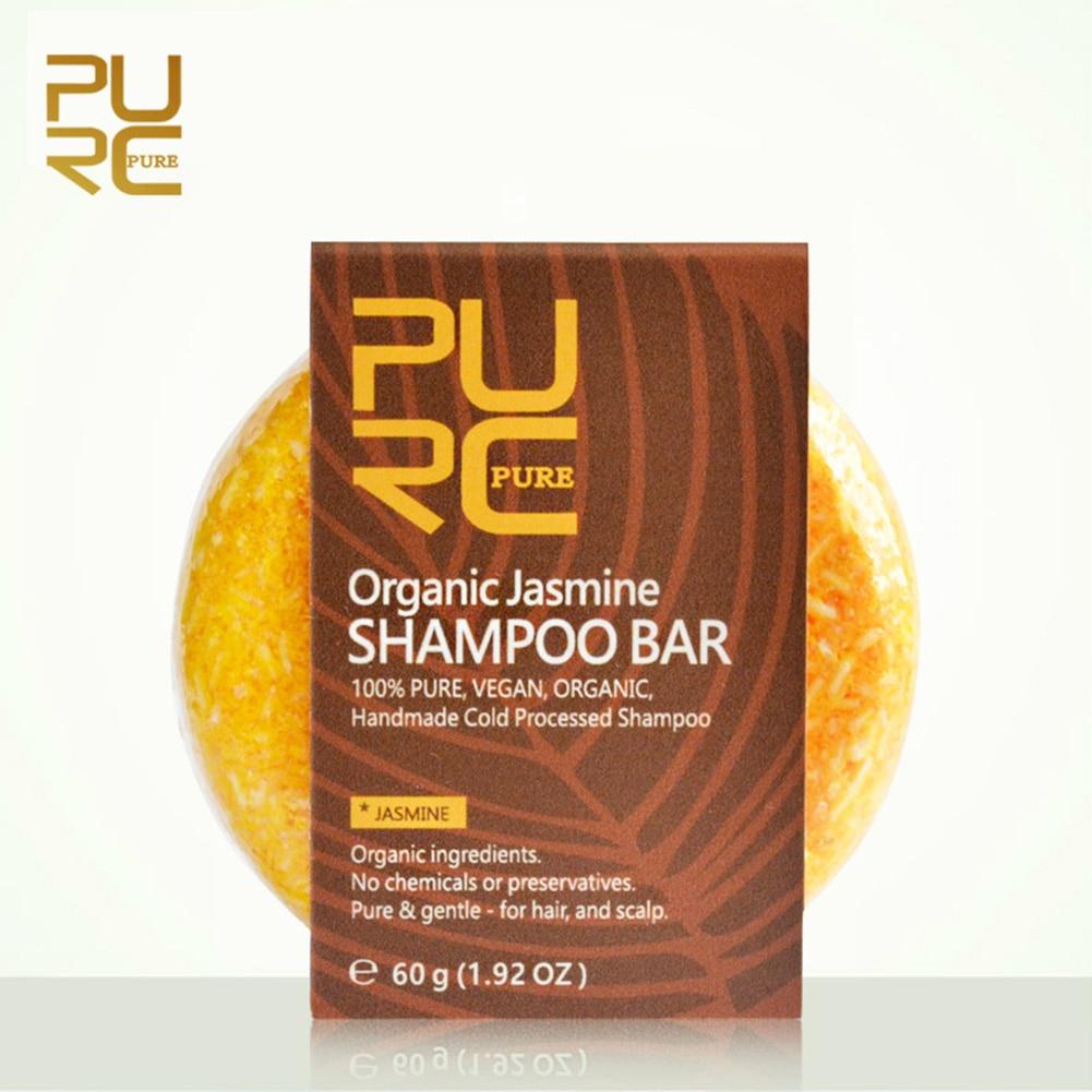 Polygonum Handmade Reverse Shampoo Bar Hair Darkening Shampoo Bar Conditioner and Repair Essence KG66