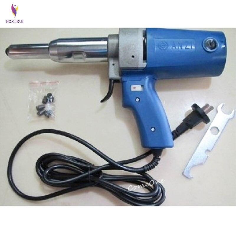 PIM-SA3-5 220V Electric Riveter Gun/hitter Blind-Riveting Tool Gun 7000N 23 Mm