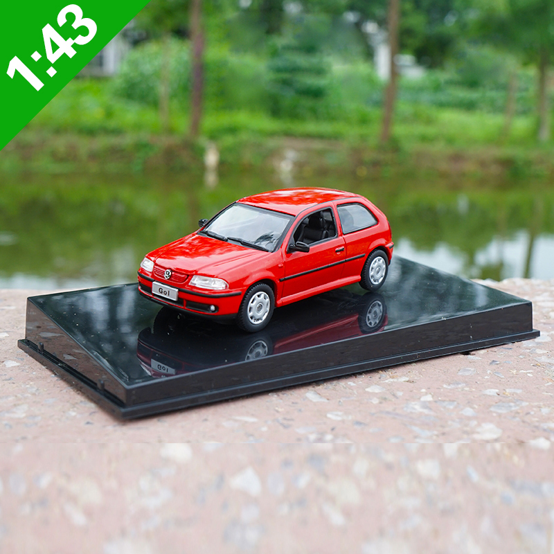 High Meticulous 1:43 VW GOLF Alloy Model Car Static Metal Model Vehicles Original Box For Gifts Collection