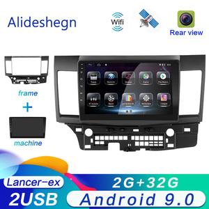 2G RAM Android 9.0 Car dvd Multimedia for MITSUBISHI LANCER 2007 2008 2009 2010 2011 2012 2013 2014 2015 radio Gps navigation(China)