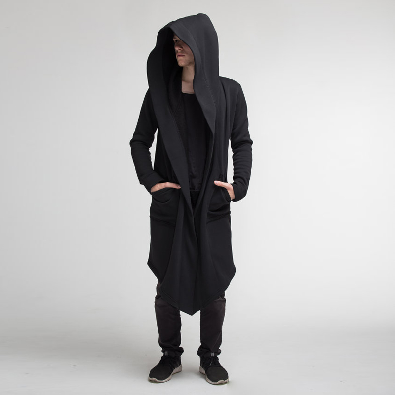 Hd923797fb7ef40ab8a78f7f714357a647 Women Men Long Coats Burning Man Warm Casual Fashion Solid Thick Cosplay Hooded Jacket Coat Outwear Plus Size