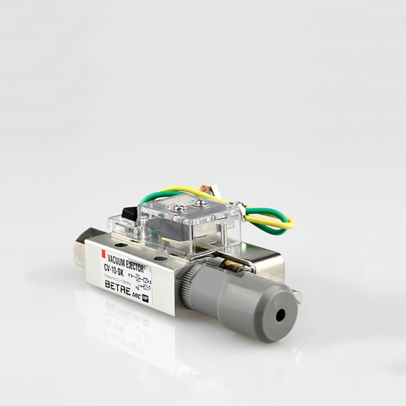 Válvula de vacío neumática de la serie CV-10/15/20/30, interruptor manipulador de presión negativa ajustable Válvula de cierre de Manipulador automático de DC8V-DC16V para alarma, dispositivo de seguridad para tuberías de Gas y agua para cocina y baño