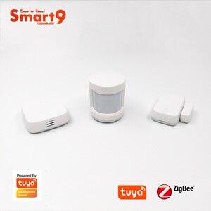 Image 2 - Smart9 Smarthome DIY Kit A, ZigBee PIR + Door + Temperature Sensor working with TuYa ZigBee Hub Smart Life App Powered by TuYa