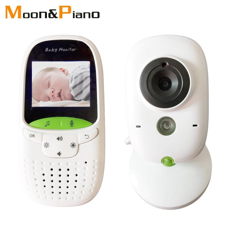 Cor de Vídeo sem fio Do Bebê Monitor de 960p de Alta Resolução Kid Chirldren Nanny Câmera de Segurança Night Vision Monitoramento de Temperatura